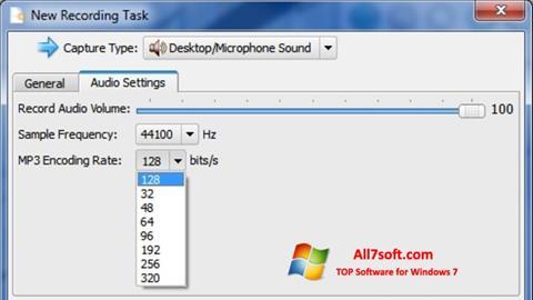 Captură de ecran SMRecorder pentru Windows 7
