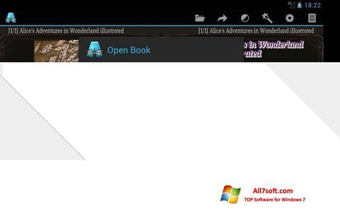 Captură de ecran AlReader pentru Windows 7