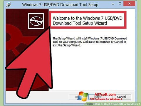 Captură de ecran Windows 7 USB DVD Download Tool pentru Windows 7