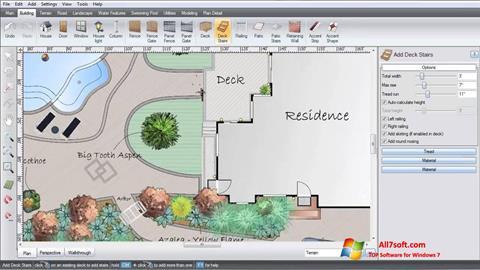Captură de ecran Realtime Landscaping Architect pentru Windows 7