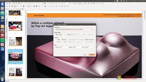Captură de ecran Master PDF Editor pentru Windows 7