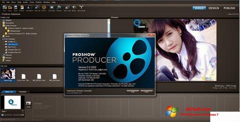 Captură de ecran ProShow Producer pentru Windows 7
