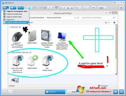 Captură de ecran QIP pentru Windows 7