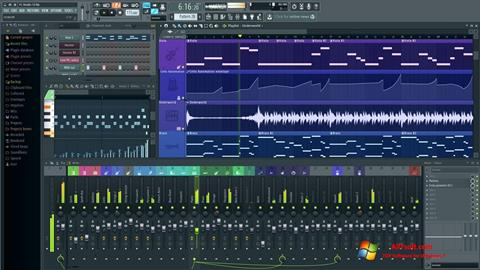 Captură de ecran FL Studio pentru Windows 7