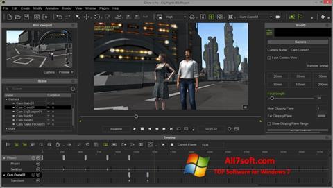 Captură de ecran iClone pentru Windows 7