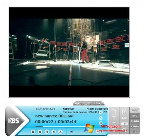 Captură de ecran BSPlayer pentru Windows 7