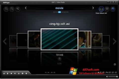 Captură de ecran KMPlayer pentru Windows 7