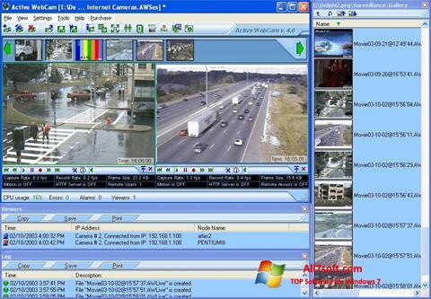Captură de ecran Active WebCam pentru Windows 7